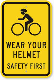 Icon of Wear you helmet safety first
